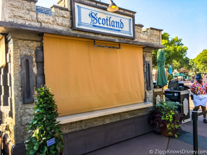 Scotland Review 2017 Epcot Food and Wine Festival Scotland Booth