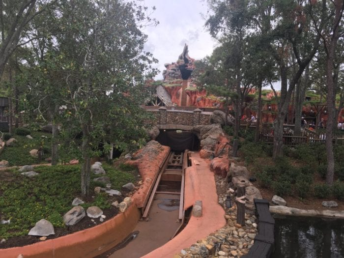 Splash Mountain Refurbishment 2018