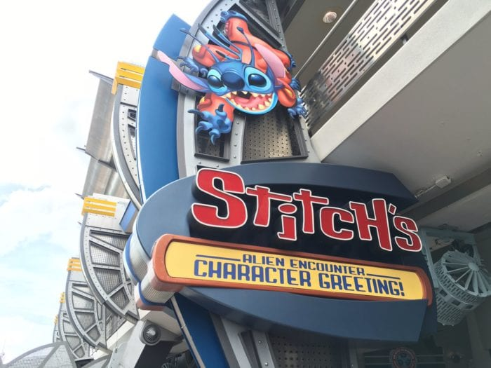 Stitch's Great Escape Closing for Stitch's Character Greeting?