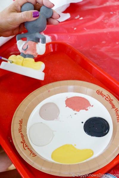 Hurricane Irma in Walt Disney World painting Mickey ceramics activity 2
