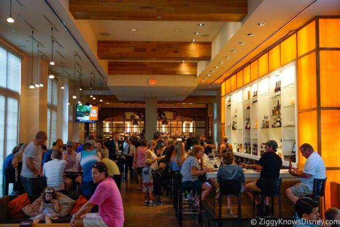 Hurricane Irma in Walt Disney World Il Mulino bar