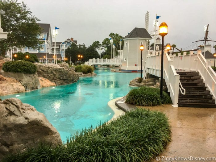 Hurricane Irma in Walt Disney World yacht and beach club pool 2