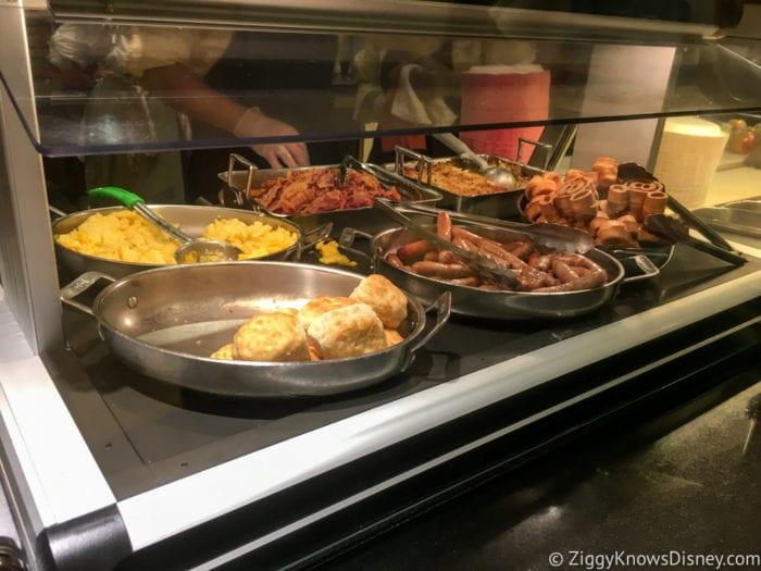 Hurricane Irma in Walt Disney World cape may cafe breakfast buffet