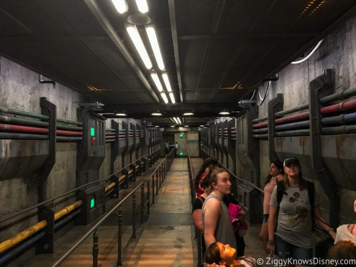 Hurricane Irma in Walt Disney World Flight of Passage line before hurricane Irma