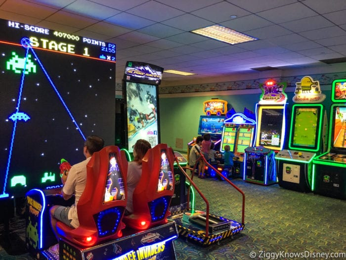 Hurricane Irma in Walt Disney World yacht and beach club arcade