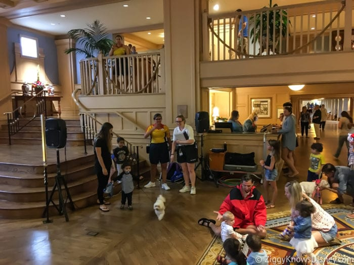 Hurricane Irma in Walt Disney World yacht club Dog Show