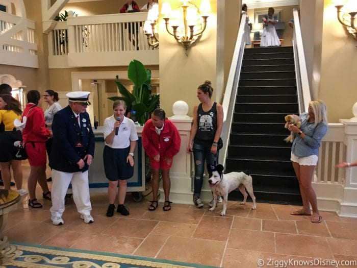 Hurricane Irma in Walt Disney World beach club Dog Show