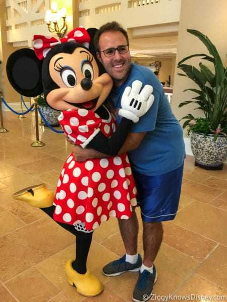 Hurricane Irma in Walt Disney World beach club Disney characters me and Minnie Mouse