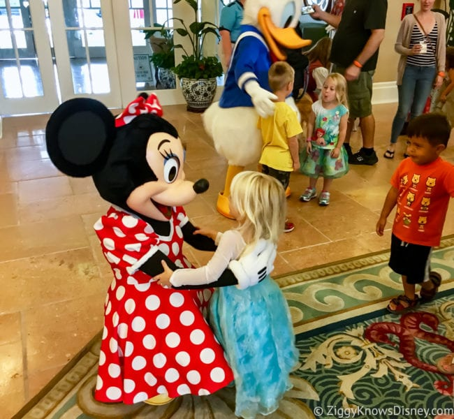 Hurricane Irma in Walt Disney World beach club Disney characters Minnie Mouse