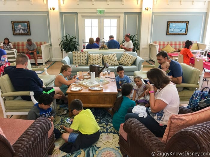 Hurricane Irma in Walt Disney World beach club ceramics class group