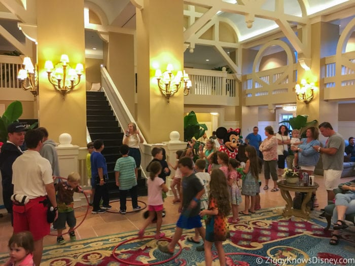 Hurricane Irma in Walt Disney World beach club characters dancing
