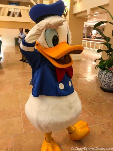 Hurricane Irma in Walt Disney World beach club Donald Duck