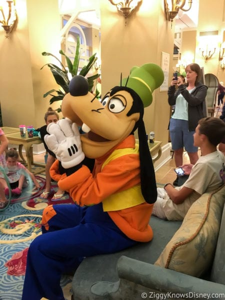 Hurricane Irma in Walt Disney World beach club goofy