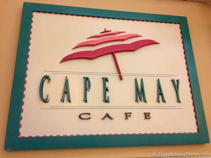 Hurricane Irma in Walt Disney World cap may cafe sign