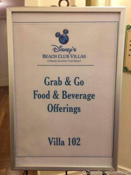 Hurricane Irma in Walt Disney World beach club villas breakfast sign