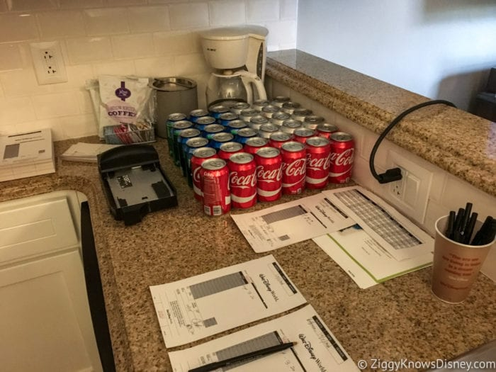 Hurricane Irma in Walt Disney World beach club villas soda