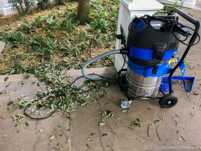 Hurricane Irma in Walt Disney World beach club villas vacuum