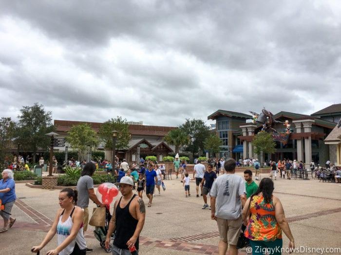 Hurricane Irma in Walt Disney World disney springs before hurricane irma