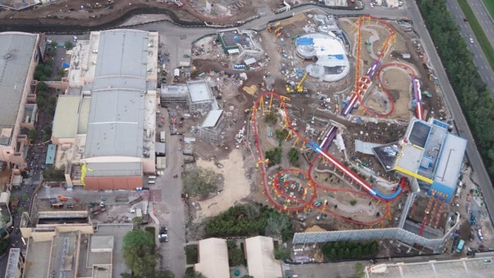 Toy Story Land Construction Update October overview