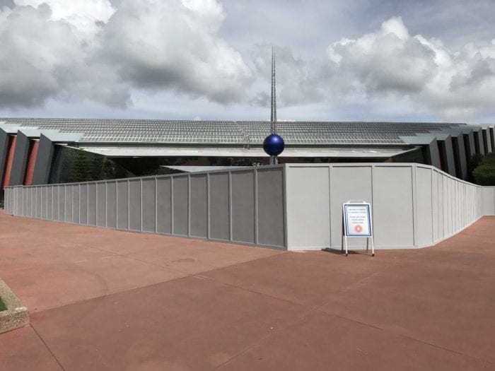 Walls Up Around Guardians of the Galaxy/Universe of Energy Building