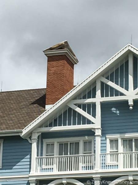 Hurricane Irma in Walt Disney World beach club chimney