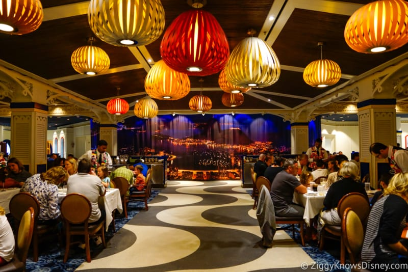 REVIEW: Carioca's Dinner on the Disney Magic Cruise Ship