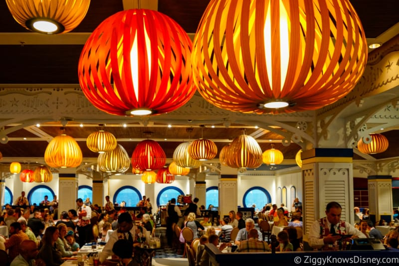 Carioca's Dinner Review dining room lanterns