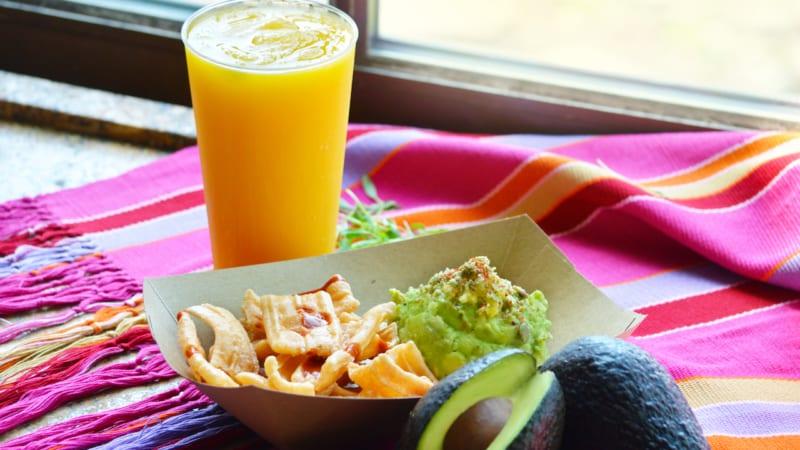 Choza de Margarita Coming Epcot guacamole
