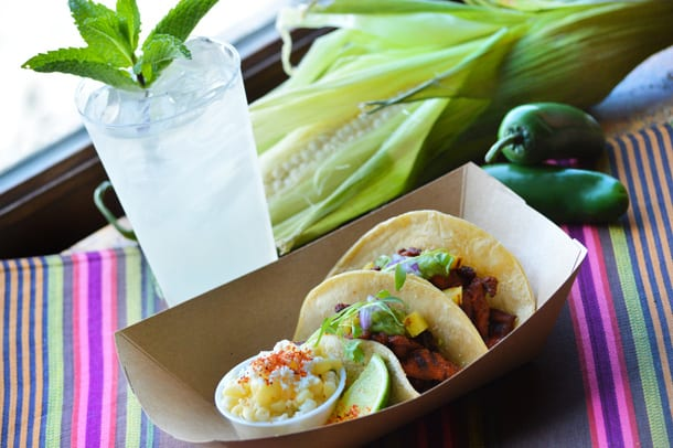 Choza de Margarita Coming Epcot tacos