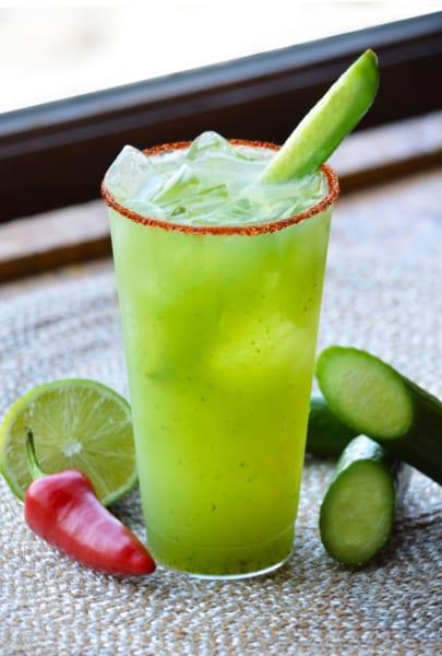 Choza de Margarita Coming Epcot cucumber