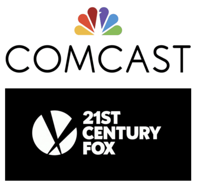 Comcast Outbid Disney Fox logo