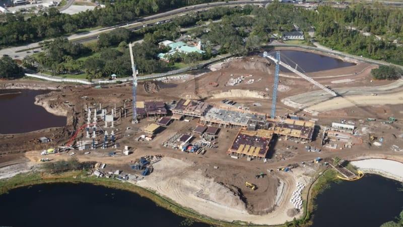 Disney Skyliner Construction Update November 2017 Riviera Resort Construction 2
