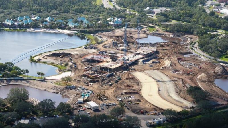 Disney Skyliner Construction Update November 2017 Riviera Resort Construction 3