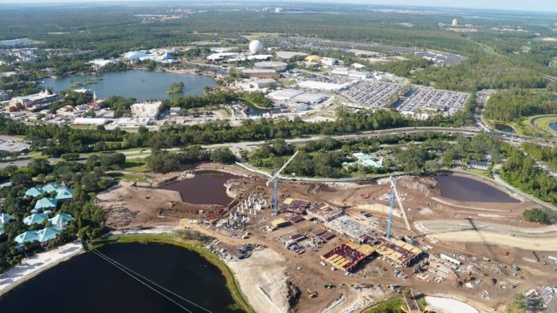 Disney Skyliner Construction Update November 2017 Riviera Resort Construction