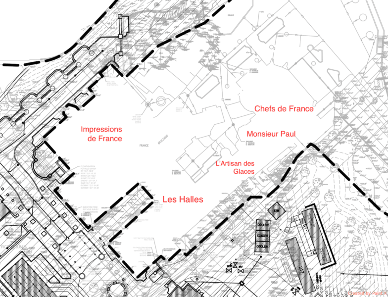 Ratatouille Attraction Permits France