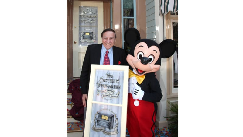 Disney Legend Richard M. Sherman Inducted into the IAAPA Hall of Fame