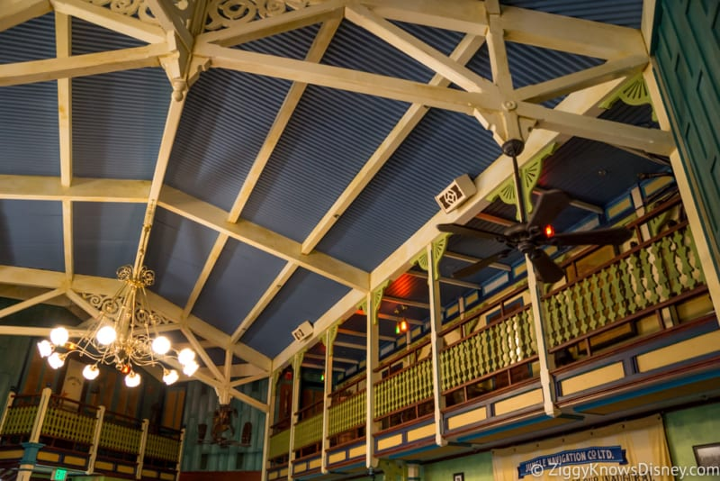 Skipper Canteen Review Crew Mess Hall Ceiling