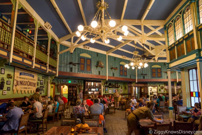 Skipper Canteen Review Crew Mess Hall Dining Room
