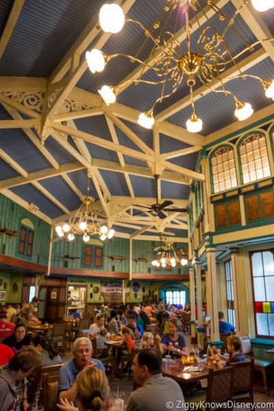 Skipper Canteen Review Crew Mess Hall Dining Room 2