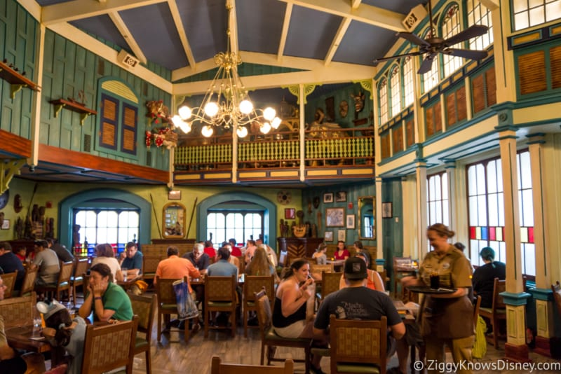 Skipper Canteen Review Crew Mess Hall Dining Room 4