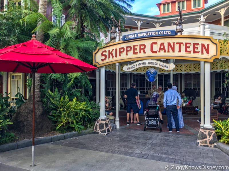 Skipper Canteen Review entrance