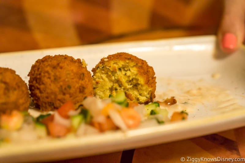 Skipper Canteen Review Falls Family Falafel inside