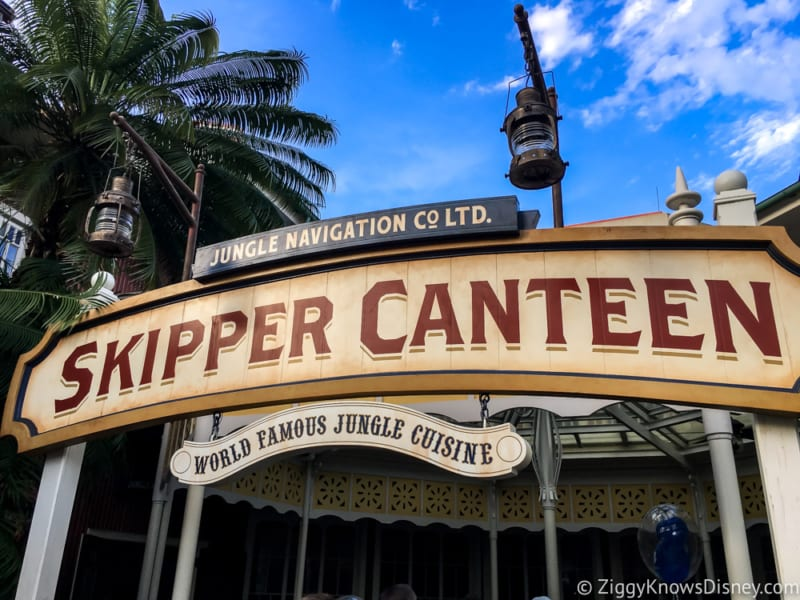Review: Skipper Canteen Dinner in Disney's Magic Kingdom