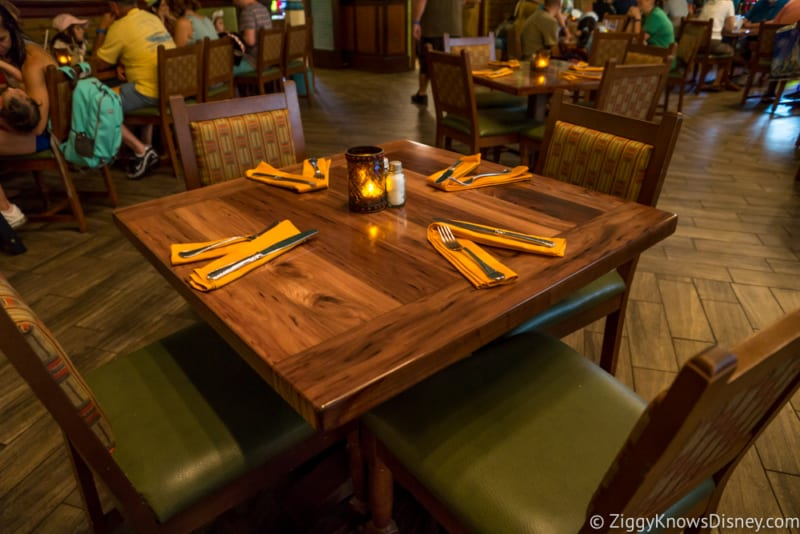 Skipper Canteen Review Crew Mess Hall Table