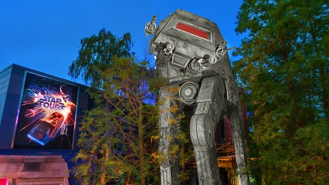 Star Tours separating old and new missions