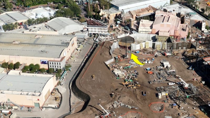 Galaxy's Edge construction update November 2017