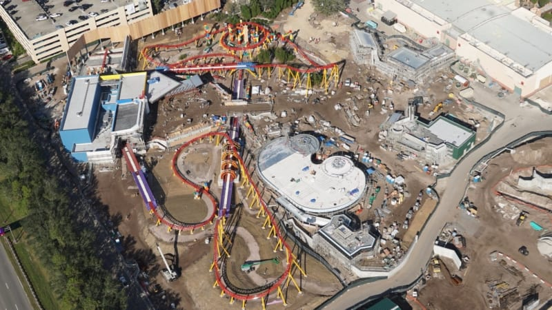 Toy Story Land Construction Update November