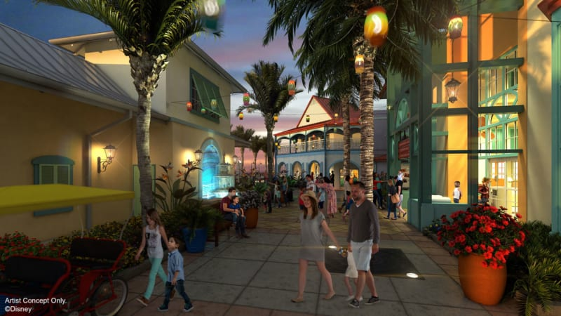 New Disney's Caribbean Beach Resort Renovation Plans Revealed