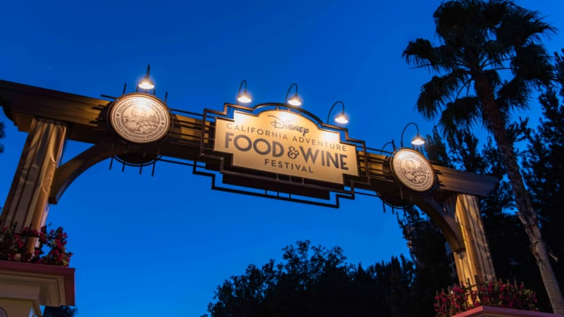 2018 Disney California Adventure Food & Wine Festival Dates Announced