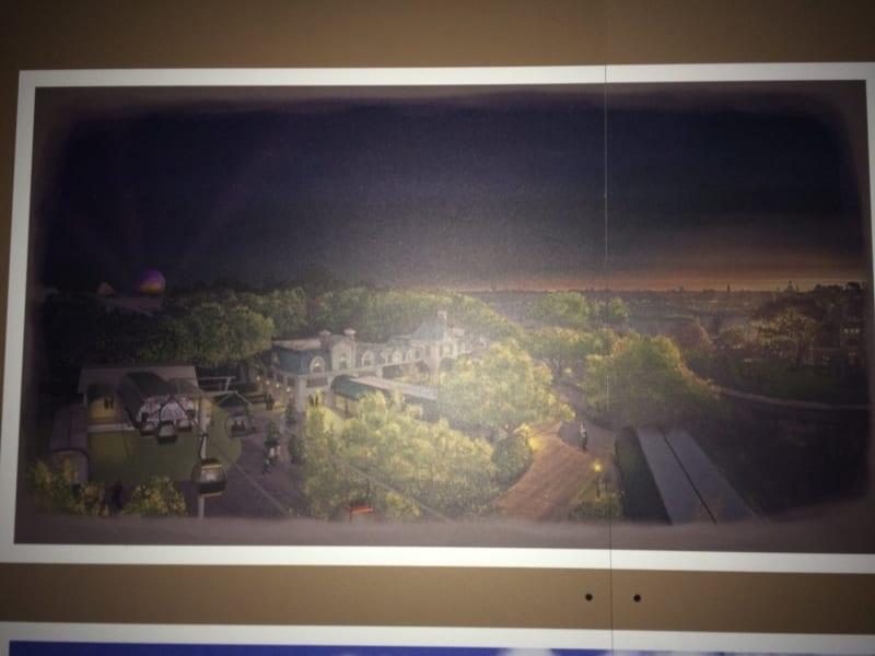 New Disney Skyliner Concept Art Released